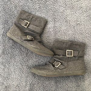 Blowfish Wool Ankle Boots